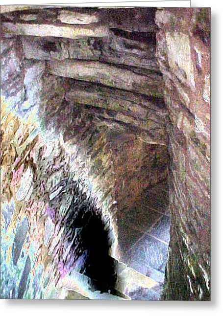 Dungeons Greeting Cards - Dungeon Door Greeting Card by Jacquie King