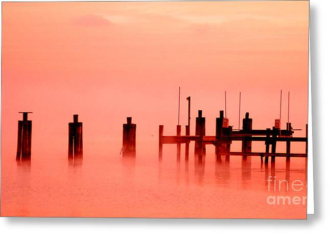 Bruster Greeting Cards - Eery Morn Greeting Card by Clayton Bruster
