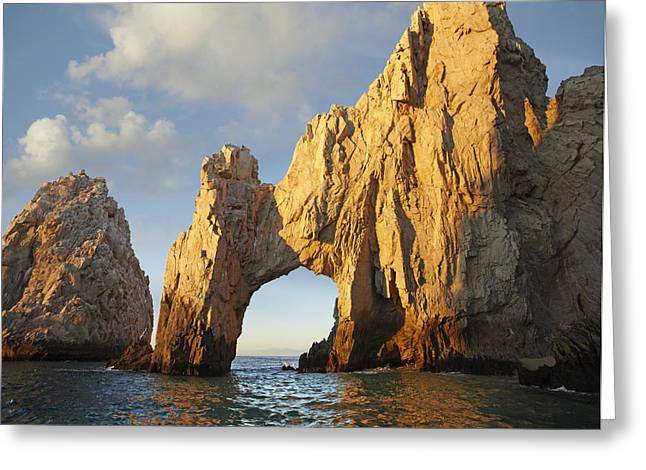 Cabo San Lucas Greeting Cards - El Arco And Sea Stacks Cabo San Lucas Greeting Card by Tim Fitzharris