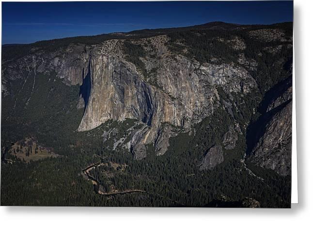Monolith Photographs Greeting Cards - El Capitan  Greeting Card by Rick Berk