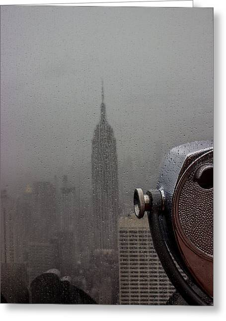 Empire State Building Greeting Card by Martin Newman