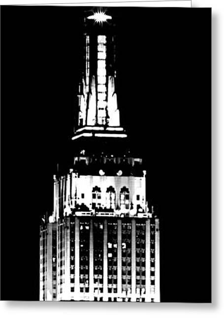 4th July Photographs Greeting Cards - Empire State Building Greeting Card by Mingtaphotography