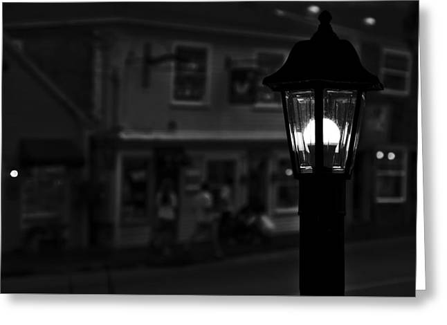 Kennebunkport Greeting Cards - Evening Conversation Greeting Card by Michael Pardo