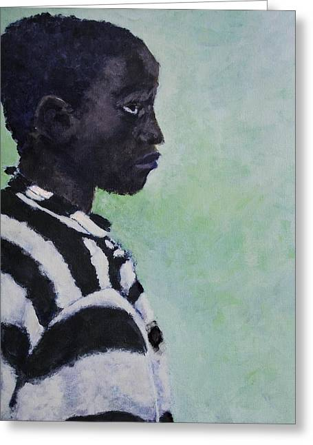 Civil Rights Greeting Cards - Execute 14 - George Stinney  Greeting Card by Luther Wright