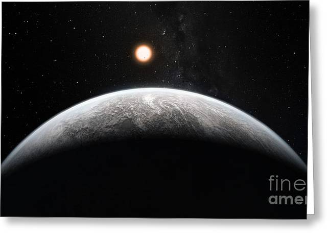 21st Greeting Cards - Exoplanet Hd 85512 B Greeting Card by ESO/Martin Kornmesser