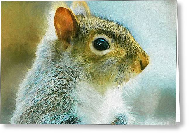 Print Photographs Greeting Cards - Eye See You Greeting Card by Tina  LeCour