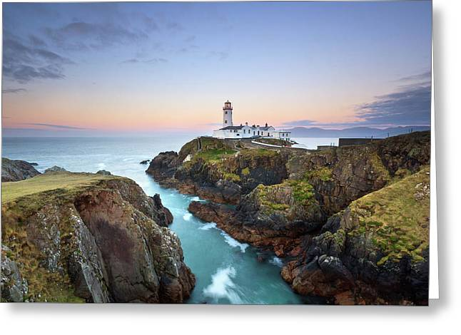 Fanad Head Lighthouse Greeting Card by Pawel Klarecki