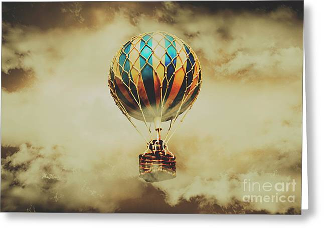 Fantasy Flights Greeting Card by Jorgo Photography - Wall Art Gallery