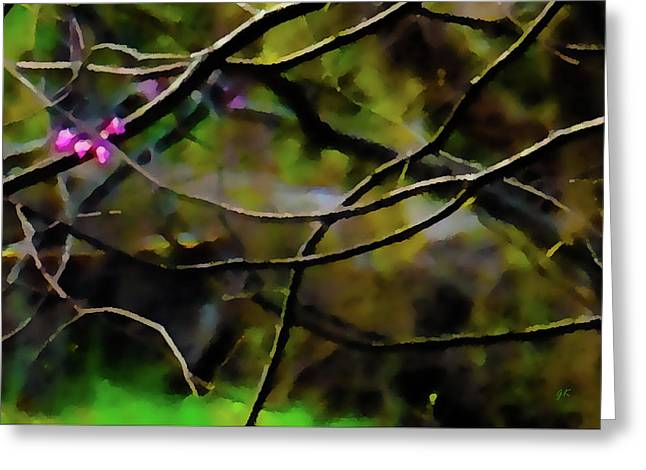First Sign of Spring Greeting Card by Gerlinde Keating - Keating Associates Inc