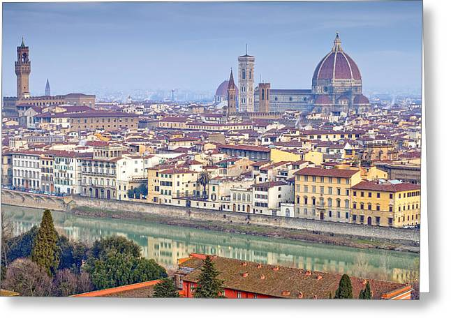 Michelangelo Photographs Greeting Cards - Florence Greeting Card by Andre Goncalves
