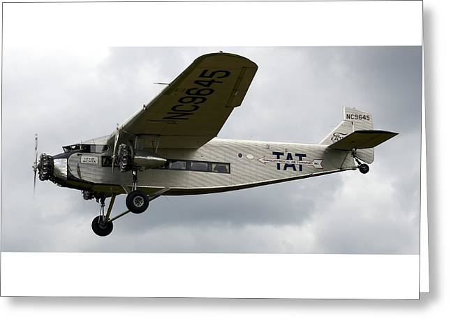 Ford Tri-motor Greeting Cards - Ford Tri Motor Greeting Card by Mark Kantner