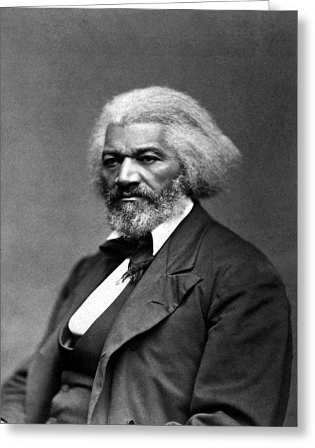 Frederick Greeting Cards - Frederick Douglass Greeting Card by War Is Hell Store