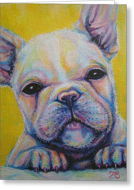 French Bulldog Greeting Card by Jack No War