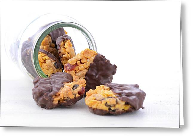 Tabletop Greeting Cards - French style Florentine biscuits Greeting Card by Milleflore Images