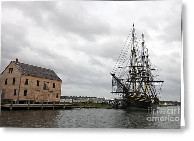 Historic Ship Greeting Cards - Friendship of Salem Greeting Card by Jason O Watson