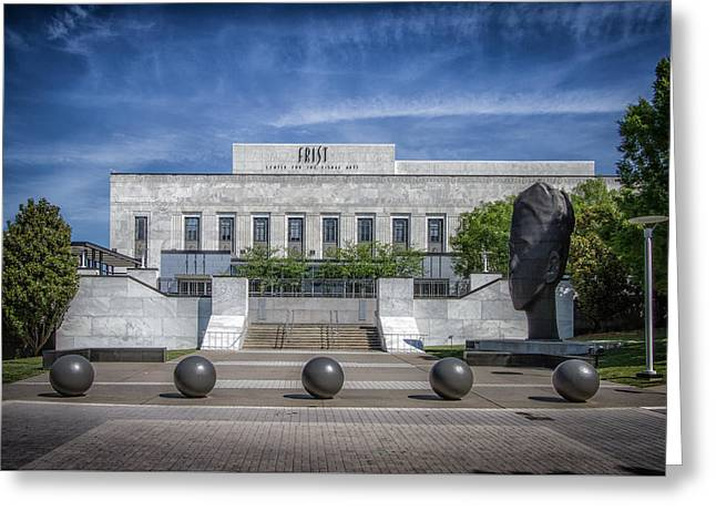 Frist Museum Greeting Cards - Frist Center for the Arts Greeting Card by Mike Burgquist