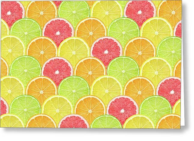 Fresh Fruit  Greeting Card by Mark Ashkenazi