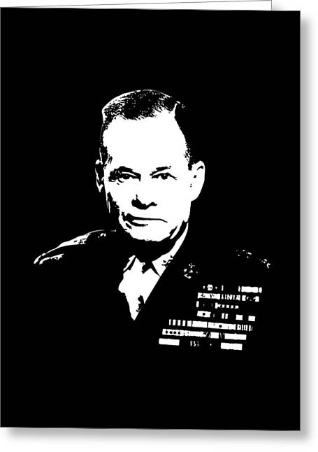 General Lewis Chesty Puller Greeting Card by War Is Hell Store