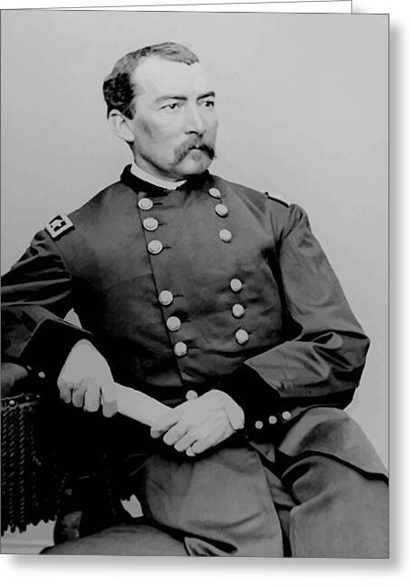 Phils Greeting Cards - General Phil Sheridan Greeting Card by War Is Hell Store