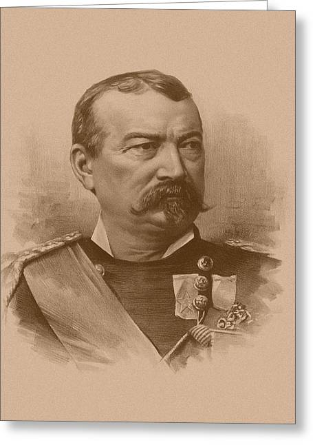 Phils Greeting Cards - General Philip Sheridan Greeting Card by War Is Hell Store