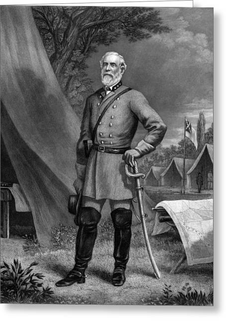 General Robert E. Lee Greeting Card by War Is Hell Store