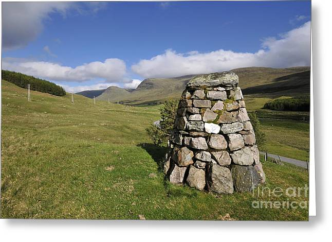 Glen Lyon Greeting Card by Stephen Smith