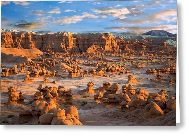 Goblin Valley State Park Utah Greeting Card by Utah Images