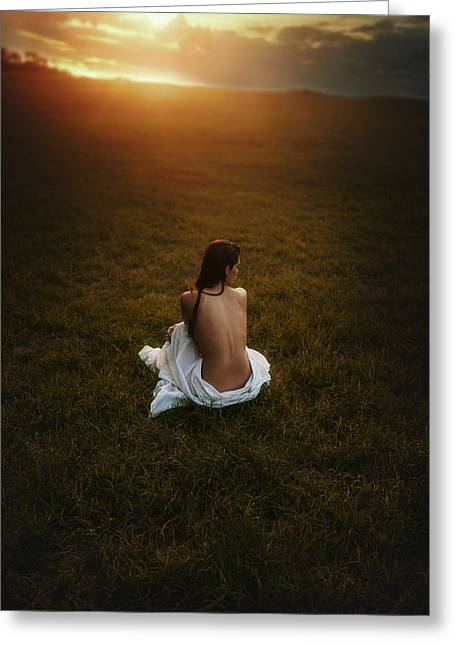 Artistic Photography Greeting Cards - Gone Greeting Card by TJ Drysdale