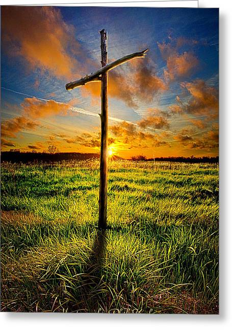 Good Friday Greeting Cards - Good Friday Greeting Card by Phil Koch