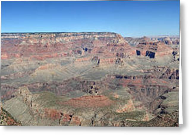 Awe Inspiring Greeting Cards - Grand Canyon National Park panorama Greeting Card by Pierre Leclerc Photography