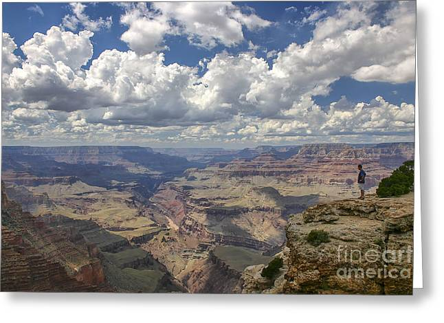 Colorado Mountain Posters Greeting Cards - Grand Canyon  Greeting Card by Patricia Hofmeester