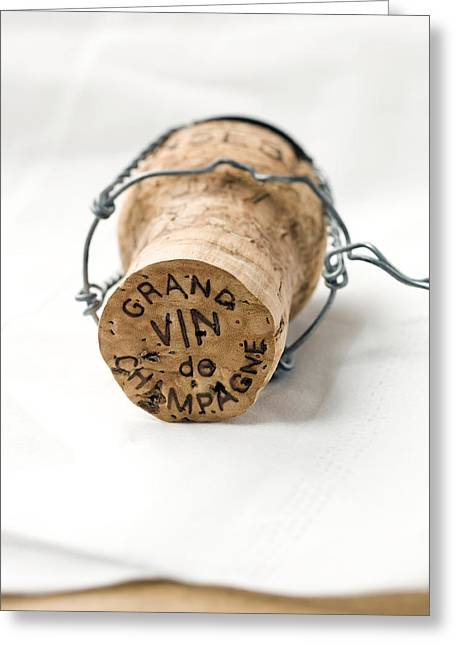 Food Pictures Greeting Cards - Grand vin de Champagne Greeting Card by Frank Tschakert