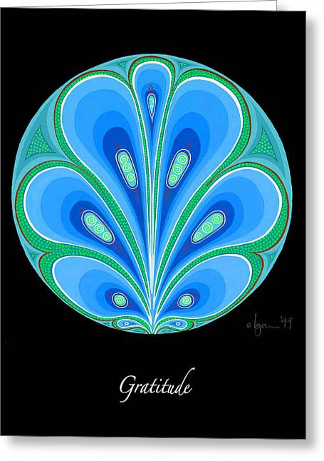 Cancer Survivor Greeting Cards - Gratitude Greeting Card by Angela Treat Lyon