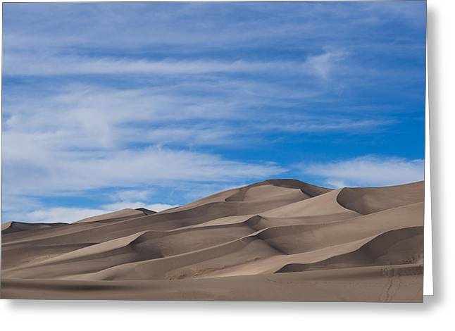 Colorado National Parks Greeting Cards - Great Sand Dunes Greeting Card by Noah Bryant