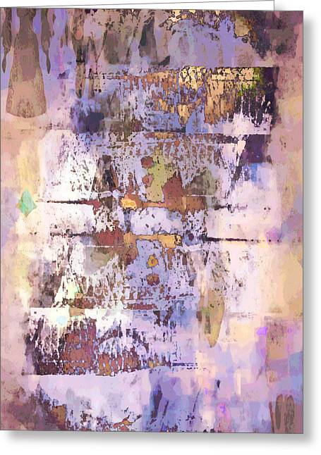 Grungy Abstract  Greeting Card by Tom Gowanlock