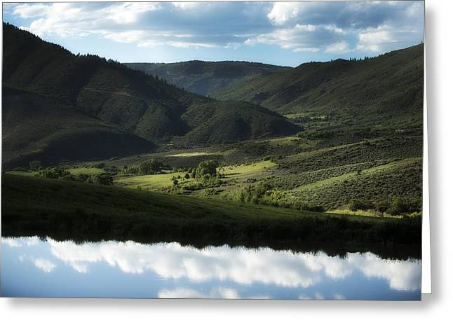 Colorado Greeting Cards - Gunnison Colorado Greeting Card by Noah Bryant
