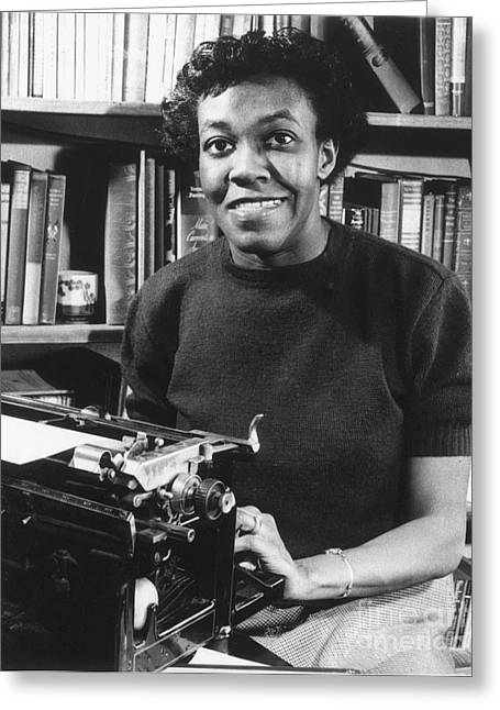 Pulitzer Greeting Cards - Gwendolyn Brooks Greeting Card by Granger