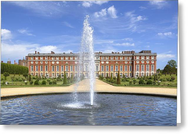 Surrey Greeting Cards - Hampton Court Palace - England Greeting Card by Joana Kruse