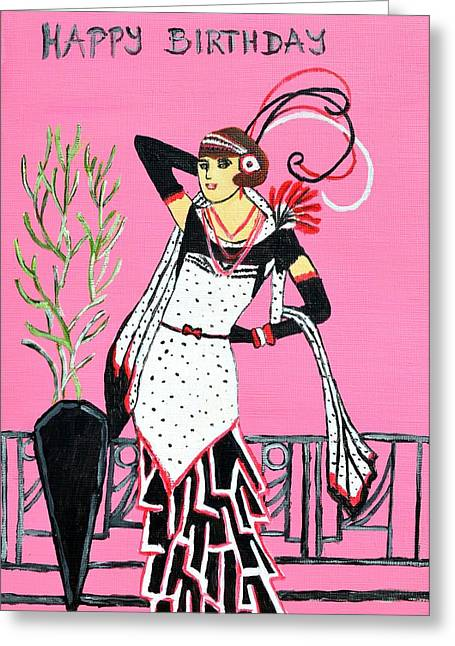 Happy Birthday  Greeting Card by Magdalena Frohnsdorff