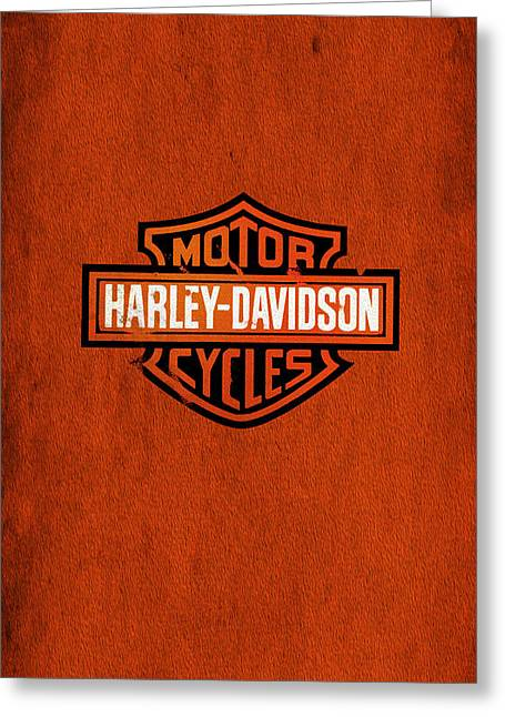 Classic Greeting Cards - Harley-Davidson Phone Case Greeting Card by Mark Rogan