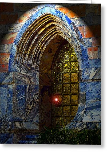 Heavens Gate Greeting Cards - Heavens Gate Greeting Card by David Lee Thompson