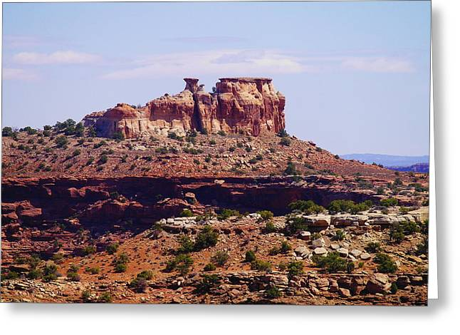 Southern Utah Greeting Cards - High desert beauty Greeting Card by Jeff  Swan