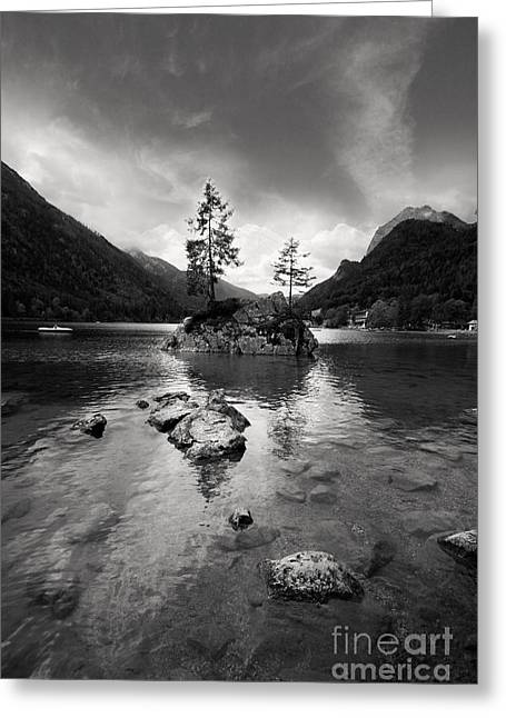 Spectacular Photographs Greeting Cards - Hintersee Greeting Card by Nailia Schwarz