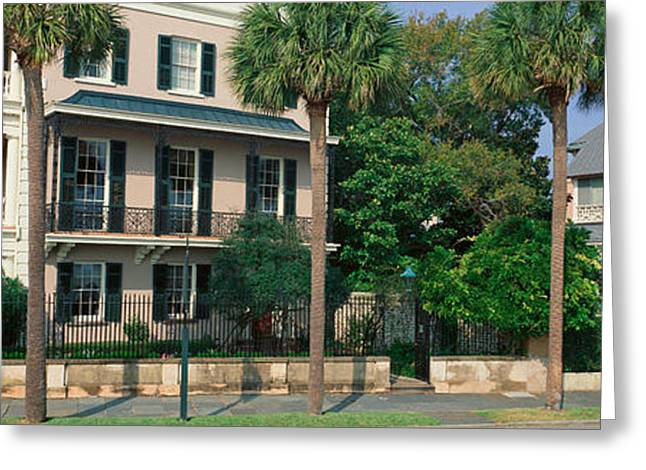 Historic Home On Battery Street Greeting Card by Panoramic Images