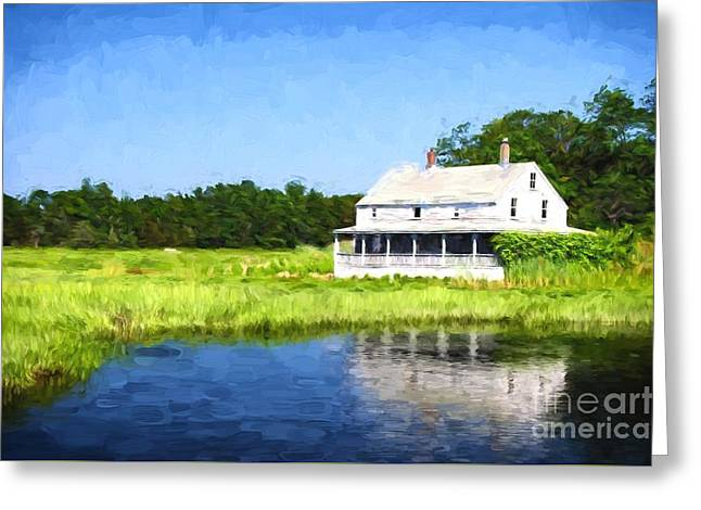 Artistic Photography Greeting Cards - Homestead Greeting Card by Charles Dobbs