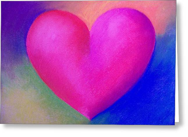 Valentines Day Pastels Greeting Cards - Honey Woney Greeting Card by Kathleen  Heese