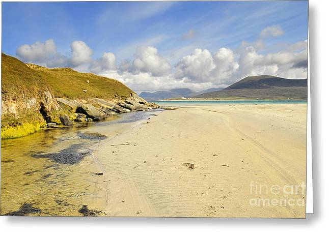 Horgabost Beach Greeting Card by Stephen Smith