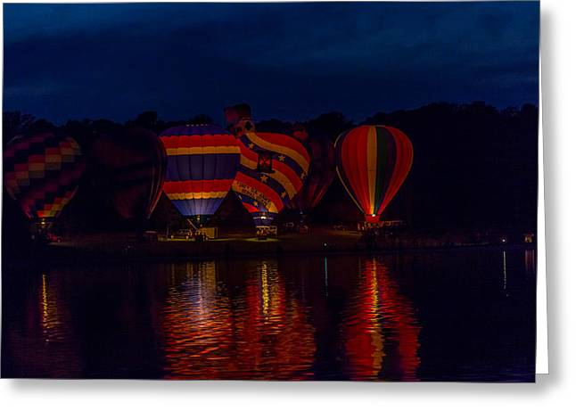 Mccoy Greeting Cards - Hot Air Balloons Greeting Card by A Different Brian Photography