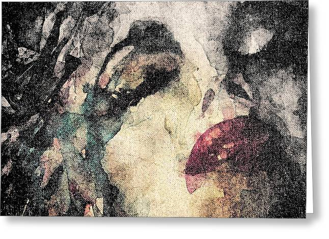 Pin-up Model Greeting Cards - How Can You Mend A Broken Heart  Greeting Card by Paul Lovering