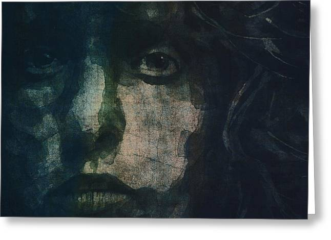 British Portraits Digital Art Greeting Cards - I Can See For Miles Greeting Card by Paul Lovering